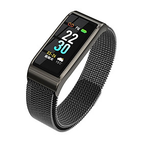 B45 Color Screen 3D Dynamic Interface All-day Heart Rate Blood Pressure Monitor Multi-sports Mode Smart Bracelet Watch