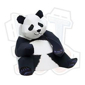 Mô hình giấy động vật gấu trúc Big Giant Panda