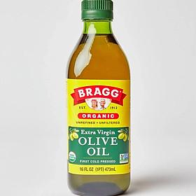 Dầu Olive Ép Lạnh Hữu Cơ Bragg 473ml - Extra Virgin Olive Bragg 473ml