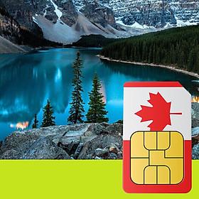 Sim 4G Canada Gói 5GB Trong 15 Ngày, Nghe Gọi Miễn Phí
