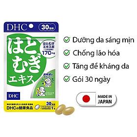 Viên uống trắng da DHC Nhật Bản dưỡng ẩm và làm mịn da thực phẩm chức năng 30 ngày JN-DHC-ADL30