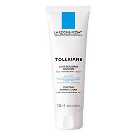 Bộ chăm sóc da Sữa Rửa Mặt Tạo Bọt Cho Da Hỗn Hợp & Da Dầu Rất Nhạy Cảm & Kích Ứng La Roche-Posay Toleriane Foaming Cream (125ml) + Nước Khoáng Làm Dịu Và Bảo Vệ Da - Thermal Spring Water Sensitive Skin La Roche Posay (300ml)