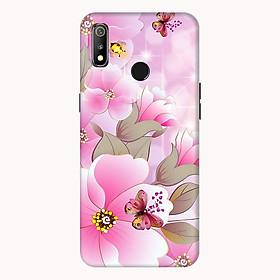 Ốp lưng điện thoại Realme 3 hình Hoa Hồng Và Bướm  - Hàng chính hãng