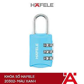 Khóa số Hafele 20302 màu xanh - 482.09.001 (Hàng chính hãng)