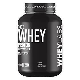 Sữa tăng cơ 100% Whey Protein Wheylabs Chocolate hũ 5lbs (2.2kg) ( 75 lần dùng)