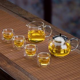 Bộ bình trà thủy tinh Samadoyo T109 250ml