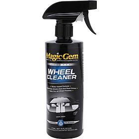 Chai Xịt Tẩy Mâm Xe Lazang Wheel Cleaner Magic Gem G6516 (473ml)