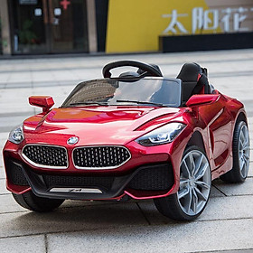 Ô tô xe điện trẻ em Z4 tự lái và remote cho bé vận động ngoài trời