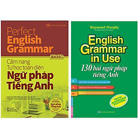 Combo English Grammar In Use - 130 Bài Ngữ Pháp Tiếng Anh+Perfect English Grammar - Cẩm Nang Tự Học Toàn Diện Ngữ Pháp Tiếng Anh - Basic