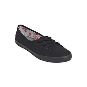 Giày Vải Nữ MIDO'S 79-MD3-BLACK - Đen
