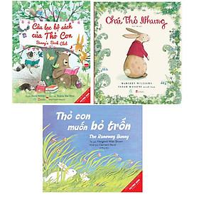 Combo Ehon truyên tranh cho bé Chú Thỏ Nhung+Thỏ Con Muốn Bỏ Trốn+Câu Lạc Bộ Sách Của Thỏ Con