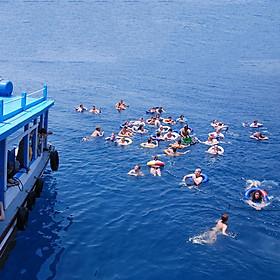 Hình ảnh Tour Nha Trang 01 Ngày: Du Ngoạn Vịnh - Đảo Robinson - Tiệc Nổi - Hồ Cá Trí Nguyên, Khởi Hành Hàng Ngày