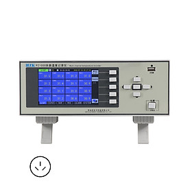 5in Multi-channel Temperature Recorder 16-Channel Temperature Tester Built-in 8G Memory 3 Display Mode History Query