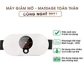 Máy Massage Bụng Đa Năng Hỗ Trợ Giảm Mỡ Béo Và Đau Nhức Toàn Thân An Toàn, Hiệu Quả 2021