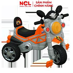 Xe 3 bánh Nhựa Chợ Lớn L12 Motor Bike V1 (Không nhạc) - M1744A-X3B - Giao màu ngẫu nhiên