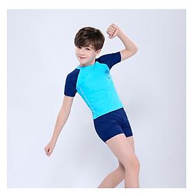 Đồ bơi bé trai kèm nón cho bé từ 8-43kg