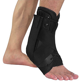 Ankle Stabilizer Brace Support Sports Safety Stirrup Compression Strap for Ankle Sprains Injuries Strains-0
