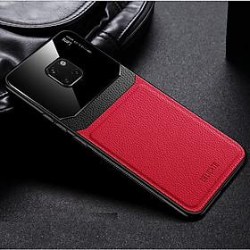 Ốp lưng da kính cao cấp hiệu Delicate dành cho Huawei Mate 20 Pro - Hàng nhập khẩu