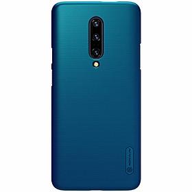 Ốp lưng cho Oneplus 7 Pro cứng Nillkin xanh - Hàng nhập khẩu