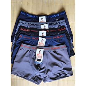 Combo 5 quần lót nam 5 màu dạng đùi bảng lưng nhỏ - Thun lạnh cực mát.