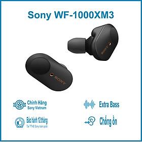 Tai Nghe True Wireless Sony WF-1000XM3 Chống Ồn Chủ Động - Hàng Chính Hãng
