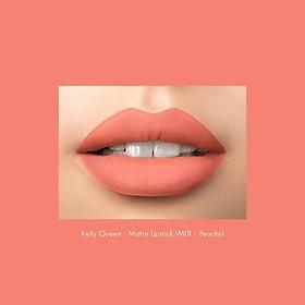 Son kem lì Kelly queen matte lipstick M01-1