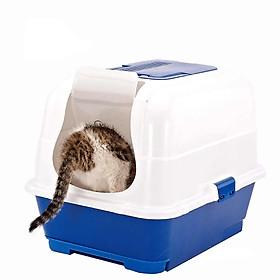 Chuồng nuôi mèo dạng Nhà vệ sinh mèo loại hộp kín có lọc khí không mùi (nhiều tùy chọn)