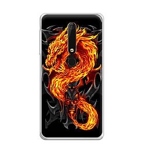 Ốp Lưng Dẻo Cho Điện Thoại Nokia 6 2018 - 0218 FIREDRAGON