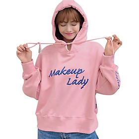 Korean Embroidered Letter Hoodies Women Fashion Loose Pullover Long Sleeve Kpop Women's Hoodie Plus Size Sweatshirt Moletom