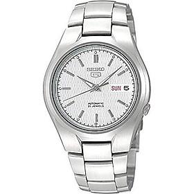 Seiko Men's SNK601 Seiko 5 Automatic Silver Dial Stainless Steel Bracelet Watch
