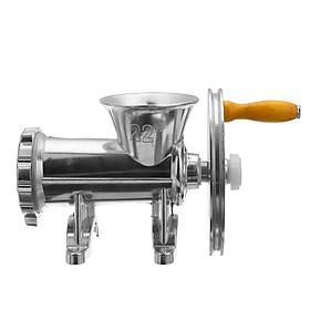 Kitchen Meat Grinder Mincer Stuffer Hand Manual Sausage Filler Maker Machine
