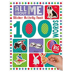 100 Words All About Me Sticker Activity Book