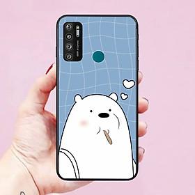 Ốp lưng điện thoại dành cho VSMART Live 4 hình Gấu Bears Dễ Thương - Hàng chính hãng