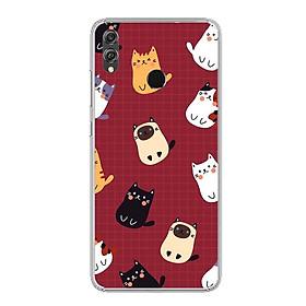 Ốp lưng dẻo cho điện thoại Huawei Honor 8X - 0639 Cartoon01 - Hàng Chính Hãng