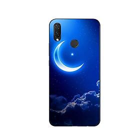 Ốp Lưng Dẻo Cho Điện thoại Huawei Nova 3i - Moon 01