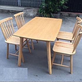 Bộ bàn ghế ăn đơn giản