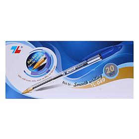Hộp 20 Bút Bi Thiên Long TL-049- Xanh