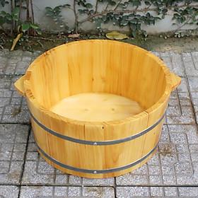 Chậu Ngâm Mông bằng gỗ