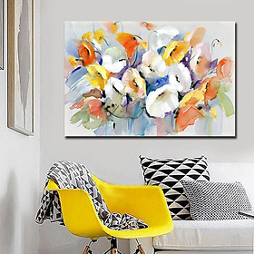 Canvas Painting Abstract Flower Mandala for Home Living Room Decoration without Frame Specification:SH-0880