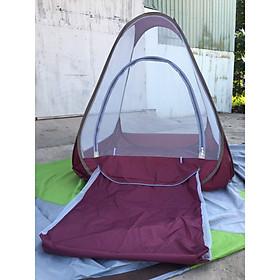 Mùng thiền tự bung có túi ngủ loại 1.2x1,2m