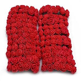 Bịch 144 hoa hồng xốp mini - hoa hồng cưới - hoa xốp giả
