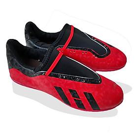 Giày Đá Bóng Đỏ May Đế Mới Có Size Trẻ Em