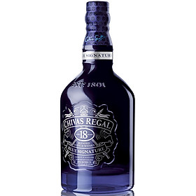 Rượu whisky Chivas Regal 18 Blue Signature 700ml 40% - Kèm hộp