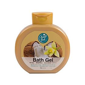 Sữa tắm hương Vanilla & Dừa FreshFeel - 750ml