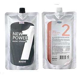 Thuốc Ép thẳng chiết xuất từ thảo dược ( Hàn Quốc) mugens power magic straight/ Mugens neutralizer (cream) 2 x 500g