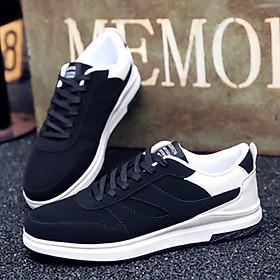 Giày thể thao phối trắng-đen Haint Boutique 141-1