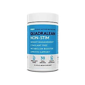 QuadraLean Stimulant-Free Weight – Đốt Mỡ Tăng Tốc Độ Trao Đổi Chất và Không chất kích thích (90 viên)