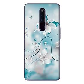 Ốp lưng điện thoại Oppo F11 Pro hình Cánh Bướm Xanh - Hàng chính hãng