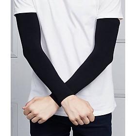 Găng tay chống nắng xỏ ngón thích hợp với cả nam và nữ