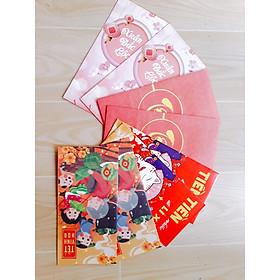 Bao lì xì Mix Xuân Đắc Lộc - Tết Vinh Hoa